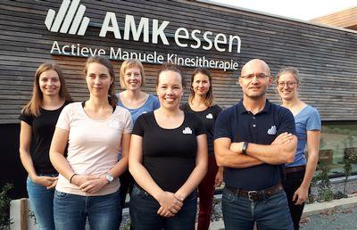 Team AMK Kinesisten - fysiotherapeuten Essen
